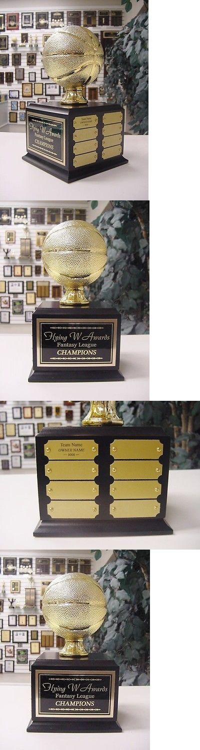 Other Basketball 2023: Fantasy Basketball Perpetual Trophy 16 Years Gold With Black Base -> BUY IT NOW ONLY: $69.1 on eBay!
