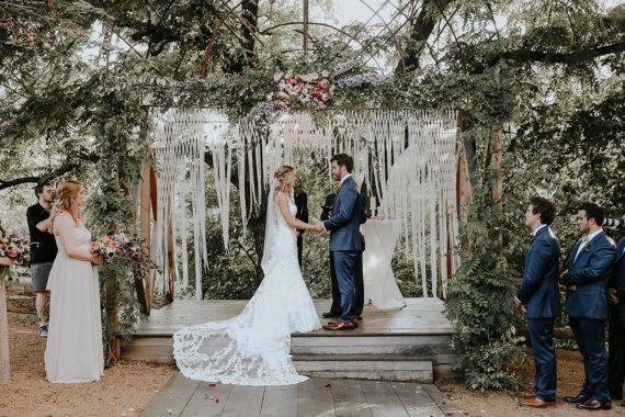 Großen Makramee Hochzeit Kulisse für Decor bei von TheHousePhoenix