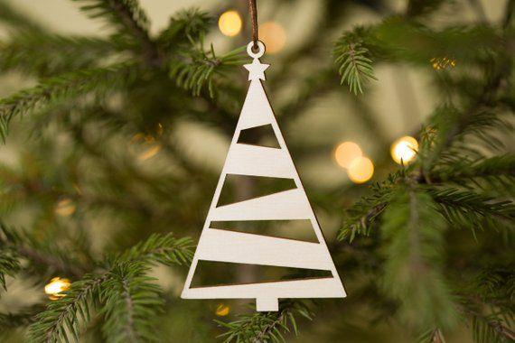 Christmas Ornaments Christmas Ornament Set Wood Ornaments Etsy Wood Christmas Ornaments Personalised Christmas Decorations Personalized Christmas Ornaments