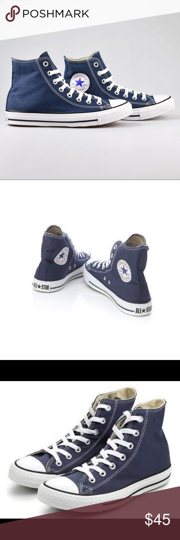 Converse Chuck Taylor women's 7.5 navy blue shoes Brand new Converse Shoes Sneakers