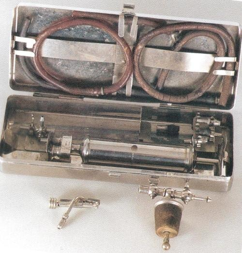Vintage embalming pump