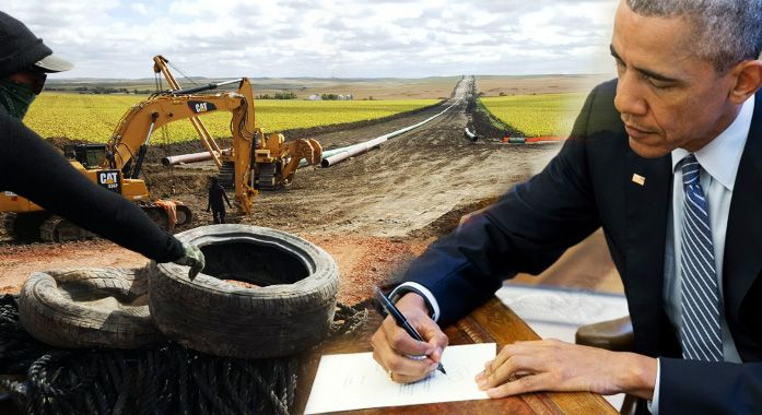 After Tricking Public Into Thinking He Stopped DAPL Obama Just Gave The Green Light To Dakota Access Pipeline Company To Build Two More Pipelines On Native Land