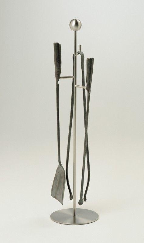 Zestaw Ferro e Fuoco to ręcznie kute z żelaza akcesoria do kominka