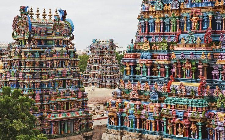 #TempiodiMeenakshi, Madurai, India