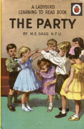 THE PARTY Vintage Ladybird Book Learning to Read Series 563 Matt Hardback 1969