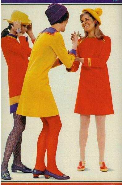 seventeen mag 1967 Bright colors-