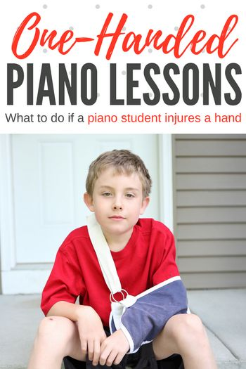 What To Do When A Piano Student Breaks, Sprains, Twists, Or Burns A Hand | Teach Piano Today