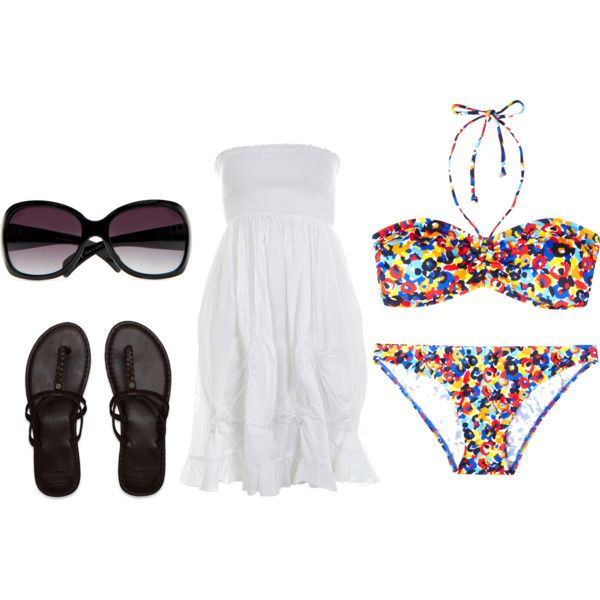 summertime pool outfit. want it all