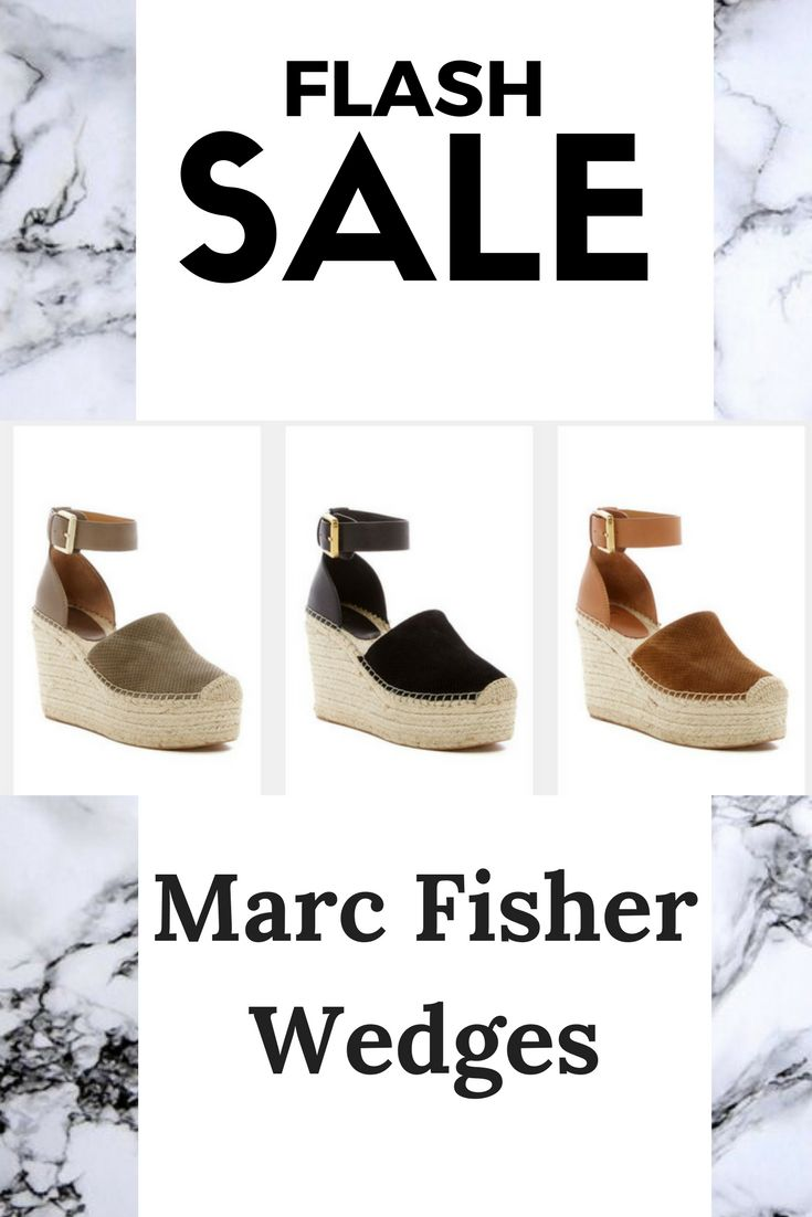 Check out these Marc Fisher wedges on sale!