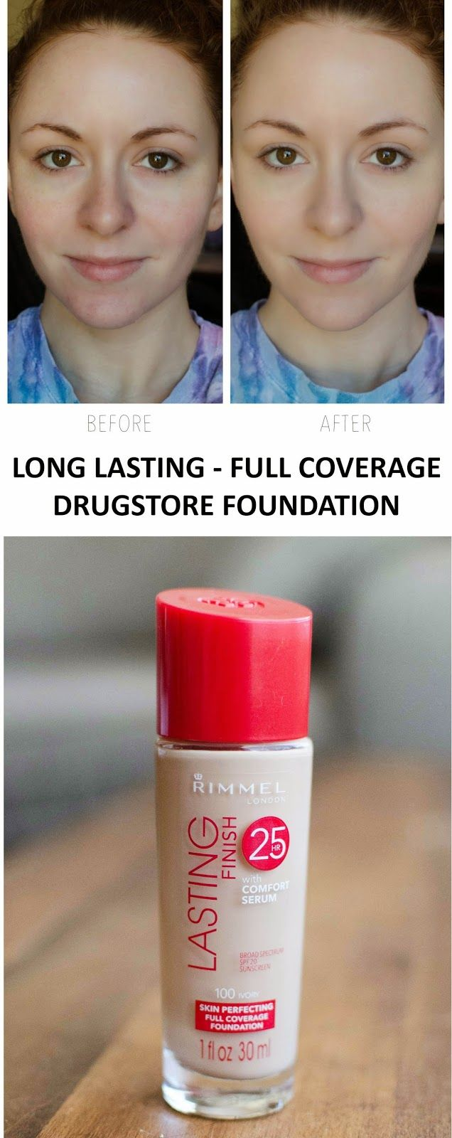 Great full coverage drugstore foundation - Mac dupe for studio fix!