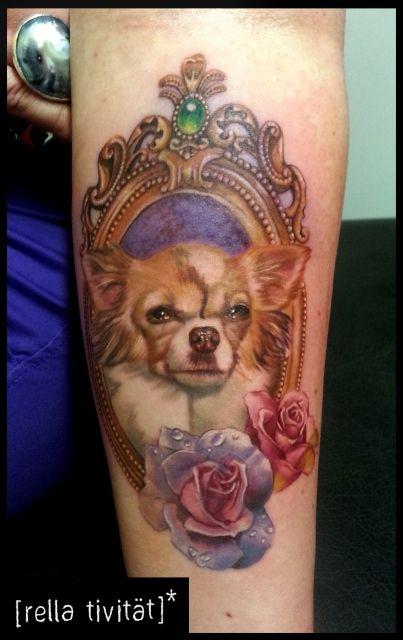 220 Ber 1 000 Ideen Zu Chihuahua Tattoo Auf Pinterest Hunde Tattoos T 228 Towierungen Und Mops Tattoo