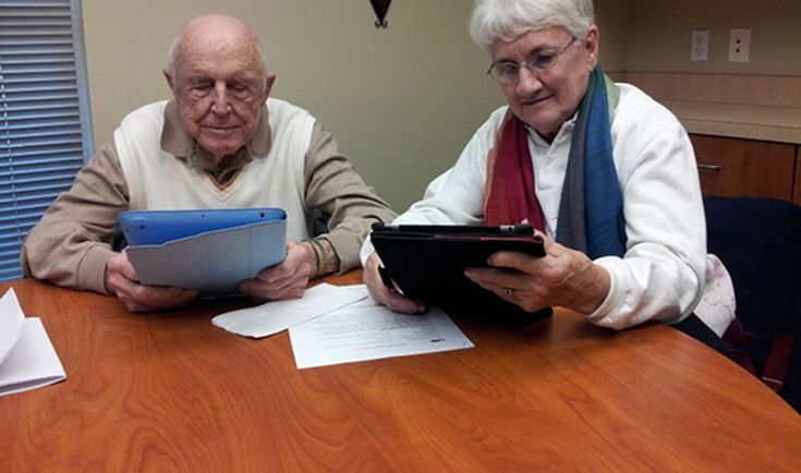 Tablets can help elderly cross the 'digital divide' | MSUToday | Michigan State University