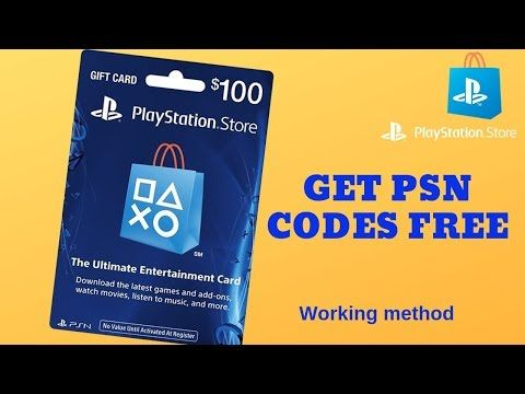 👍free psn codes 2019 how to get psn codes free😱 100% working