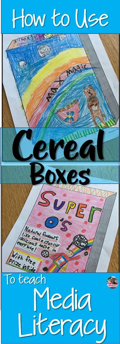 Learn everything you need to know about how to use cereal boxes to teach media literacy skills. Use this cereal box media literacy unit to integrate your media expectations into your Health curriculum expectations.