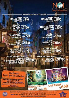 Tiket Pesawat Murah Dan Harga Promo Hotel Di NOI HOLIDAY Paket Tour
