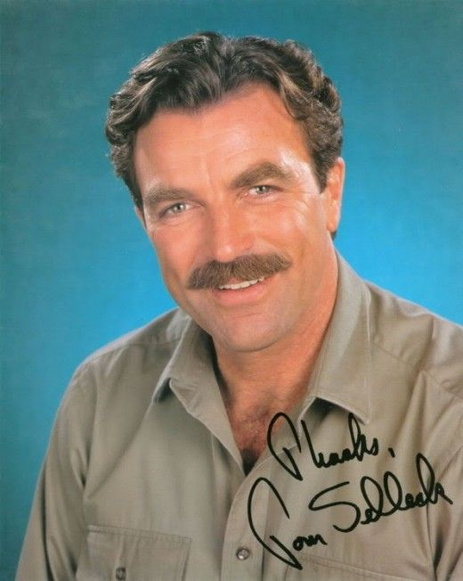Television Tom Selleck Signed Autographed Jesse Stone Photo