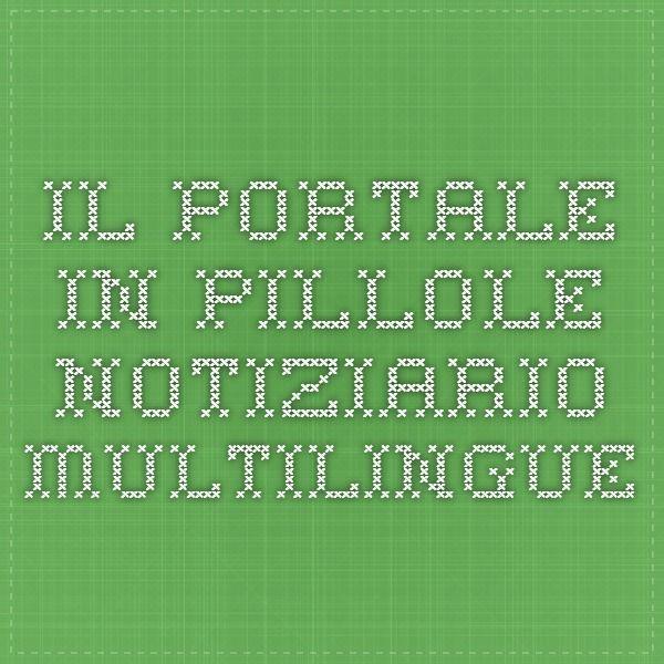 Il portale in pillole - Notiziario Multilingue
