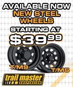 Business Stuff: Trailmaster steel wheels starting at $39.99