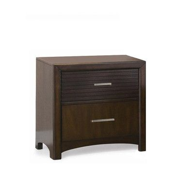 Edison 2 Drawer Nightstand - http://delanico.com/nightstands/edison-2-drawer-nightstand-506090204/