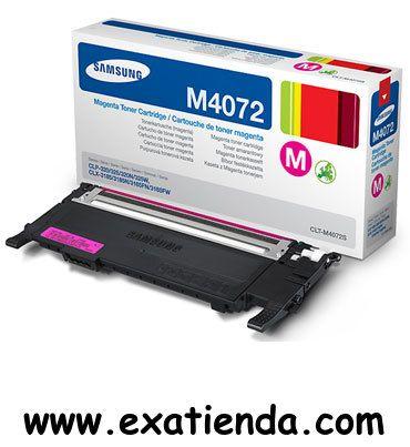 Ya disponible T?ner Samsung m4072s magenta   (por sólo 55.95 € IVA incluído):   -Compatibilidad con: CLP-320, CLP-320N, CLP-325, CLP-325W, CLX-3185, CLX-3185FN, CLX-3185FW.  -Rendimiento: de 1000 páginas estándar aprox. -Color: Magenta  Garantía de 24 meses.  http://www.exabyteinformatica.com/tienda/433-toner-samsung-m4072s-magenta #samsung #exabyteinformatica