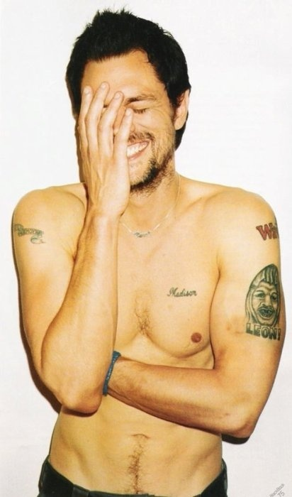 Johnny Knoxville; I used to have the HUGEST crush on him!