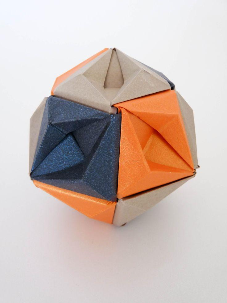 Kusudama Starsea-12 piezas  More At FOSTERGINGER @ Pinterest