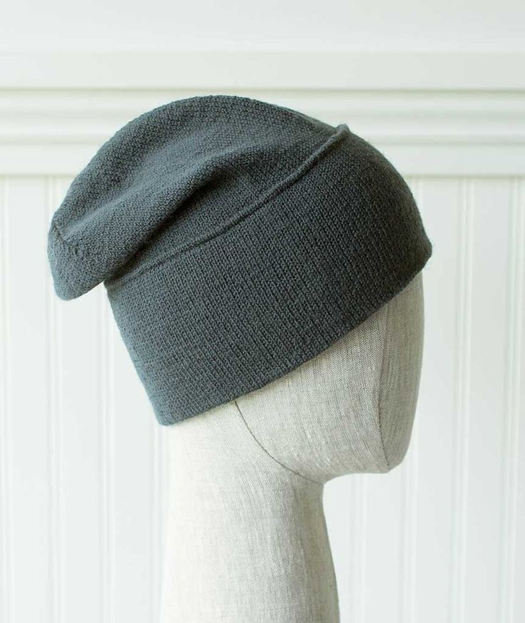 Thinking Cap - Brooklyn Tweed Vale Version – Churchmouse Yarns & Teas