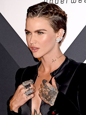 Ruby Rose Proves That It's Totally Possible to French-Braid Short Hair