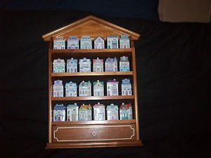 The-Lenox-Spice-Village-Fine-Porcelain-24-Piece-Set-With-Display-Shelf-1989 asked 100 US obtained 70.99  or 93 Ca