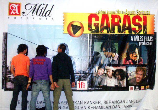 Garasi by Mira Lesmana - movie launching at 3 cities