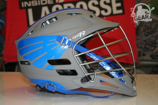 Tolland eagles cascade matte grey cpx r with fourteen graphics decals cascade lacrosse