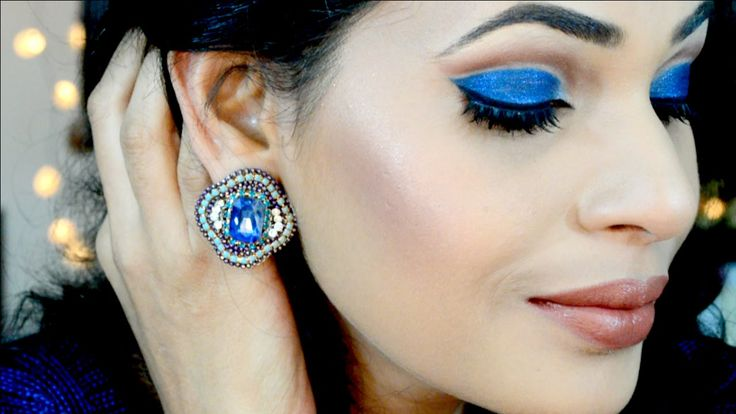 MAC Moon Is Blue | Party Cut Crease Eye Makeup