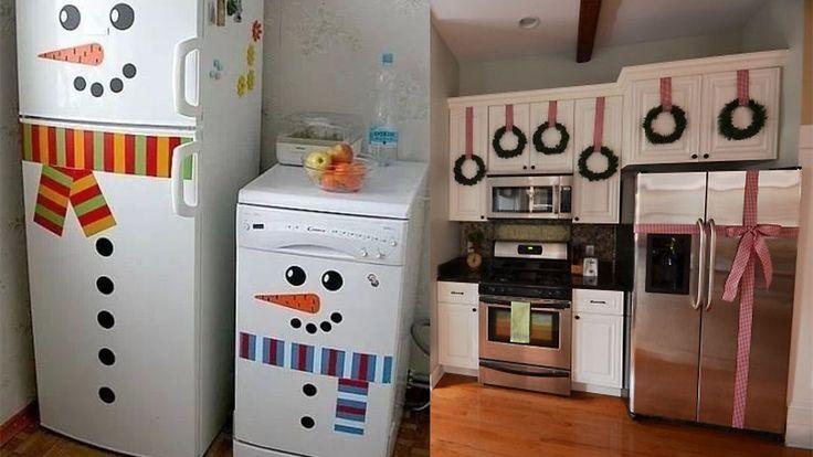 ideas de decoracion navidad cocina