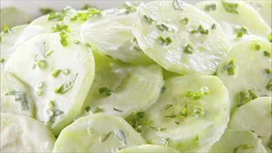 Giada De Laurentiis - Creamy Cucumber Salad