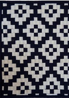 Stitching Across the Ditch: Tiles - Judith
