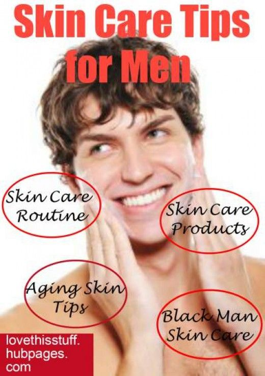 Learn basic steps to achieve a better and younger complexion with skin care tips and anti aging advice for men. Plus skin care products and special mention of caring for black skin.