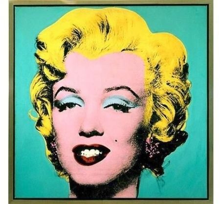 When the pop art movement was in place Andy warhol made this on the occasion of Marilyn Monroe's suicide in August 1962, Warhol used this image for his screenprinting. It was a publicity shot by Gene Korman for the film Niagara, made in 1953.