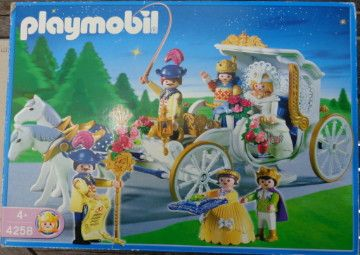 Playmobil  Caruaje  de novios - Boda Novis con niños y anillos -  carriage Wedding Bride