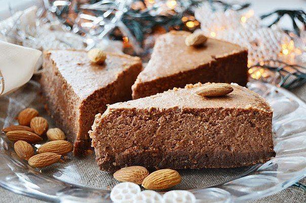 Шоколадно-ореховый чизкейк. » Кулинарные рецепты