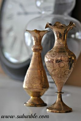 Thrift Store Gems: Cleaning Brass Naturally - Suburble