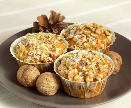Pumpkin & Walnut Muffins