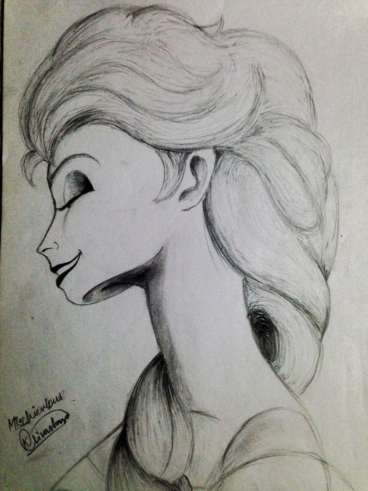 Elsa the mischievous by kshitij1997 on DeviantArt