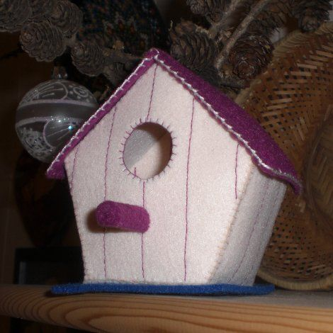 Fieltro Birdhouse