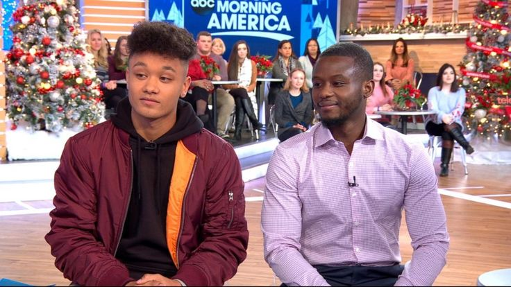 """Two biological brothers who were separated as children were recently shocked by the discovery that as adults they live 15 minutes away from each other, attend the same college, and are studying the same major and minor.  Kieron Graham, 20, and Vincent Ghant, 29, appeared live on """"Good Morning America"""