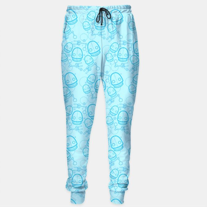 Fresh and blue sweatpants from Live Heroes! #bots #bot #robot #robots #scificlothing #geekwear #geekstyle #rave #cyber #futuristic #geeky #nerdy #geekypants