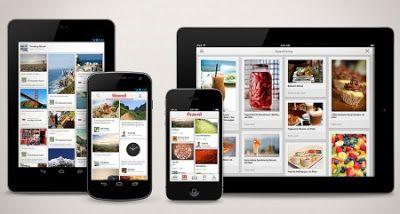 Pinterest: Pinterest para iPad y iPhone