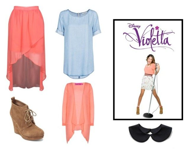 """""""star disney #6"""" by la-connasse-de-france ❤ liked on Polyvore featuring Disney, MANGO, Boohoo and Jessica Simpson"""