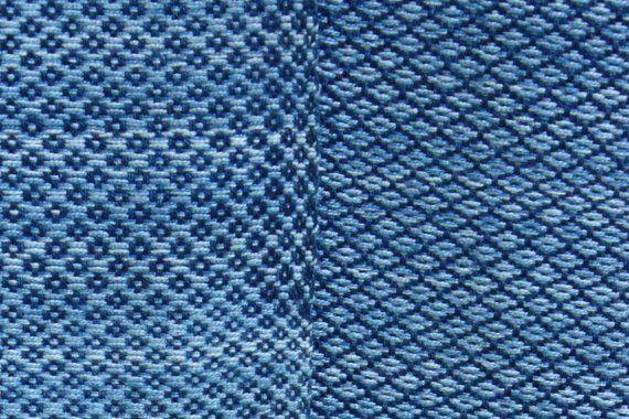 Etnische stijl sling wrap - zeer ondersteunend geweven wrap - handgeweven sling - 100% katoen wrap - natuurlijke indigo te verfstoffen BaBy SaBye