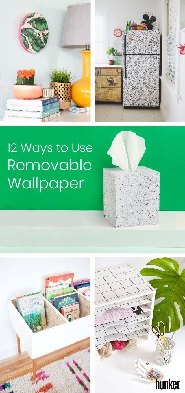 The Uses For This Beachwood Peel And Stick Wallpaper From Jo Ann Are Endless Ge Home Decor Home Home Decor Interior Design