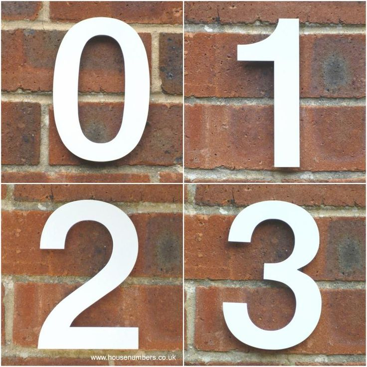 White House Numbers Unique House Number Helvetica House Etsy In 2021 Unique House Numbers Contemporary House Numbers House Numbers Contemporary house numbers uk
